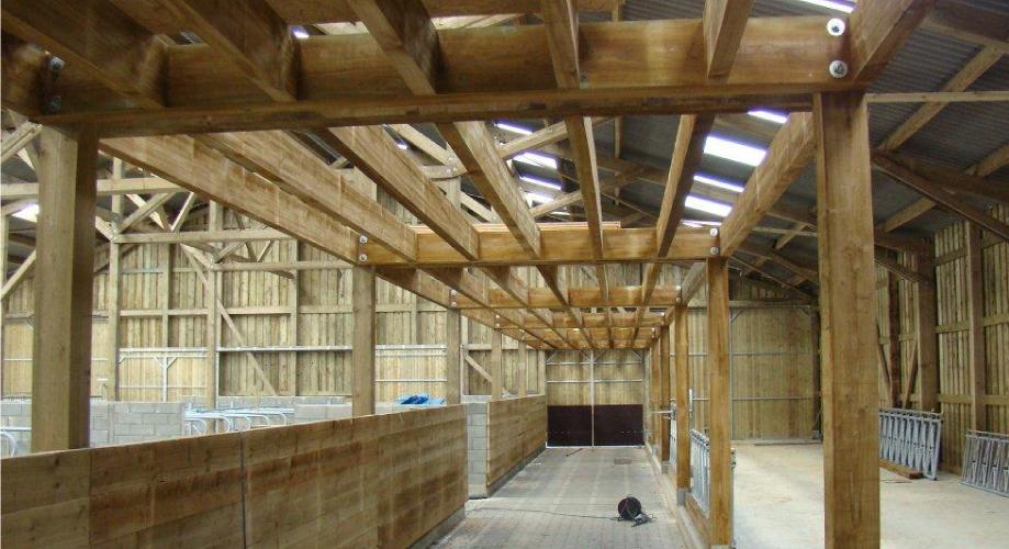 Construction bois ossatures bois for Construction bois 49